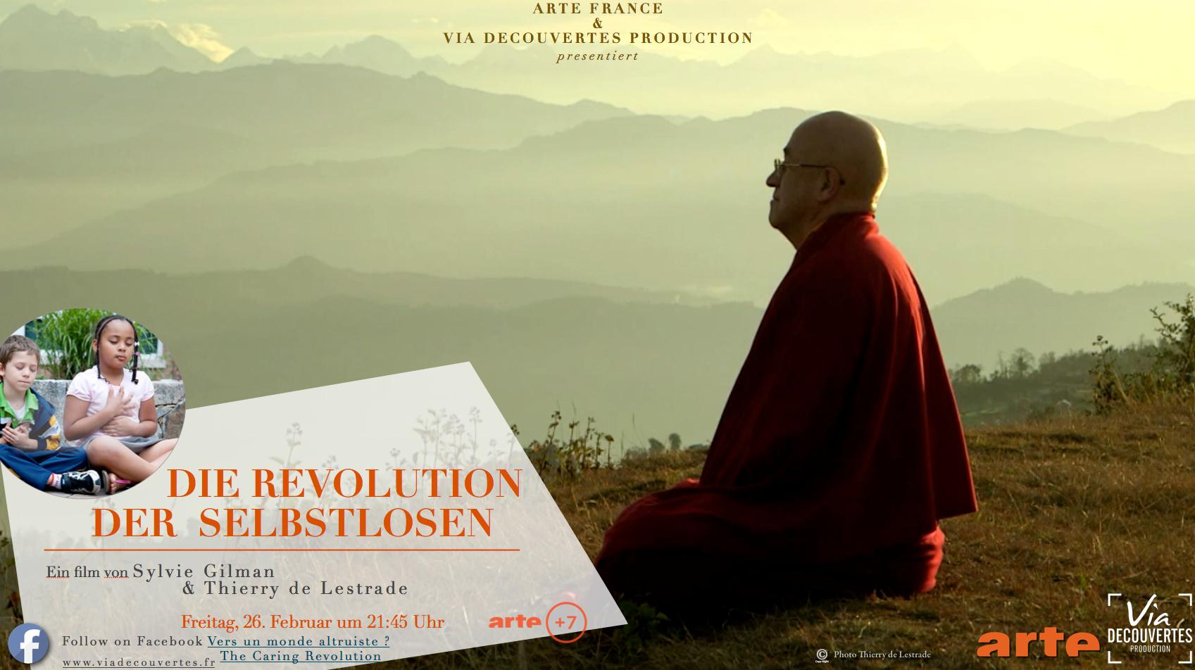 224044a6476 Die Revolution der Selbstlosen Arte Doku Achtsamkeit